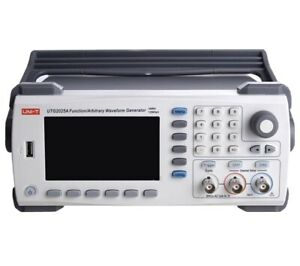 Uni t Utg2025a Function arbitrary Waveform Generator 2 channel 25 Mhz 200 Ms s