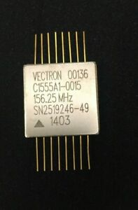 Vectron 156 25mhz Lvpecl 100ppm 3 3v Class S Crystal Oscillator