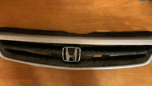 Grille Grill Fits 1999 2000 Honda Civic Dx Ex Hx Hatchback Coupe