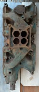 Ford 289 302 Oem Cast Iron 4 Barrel Intake Manifold