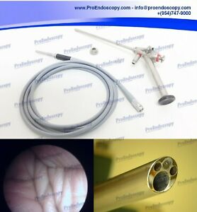 Kart Storz 28163bfa Autoclavable Spinalscope With Channel Adapter Light Cable