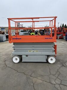 2007 Skyjack 4626 Scissor Lift 26 Deck Hgt 32 Work Hgt Extendable Deck 24v