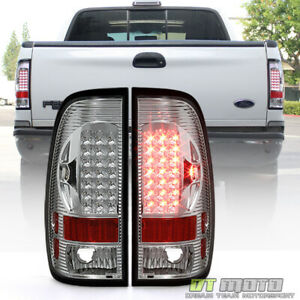 1999 2007 Ford F250 F350 Superduty 1997 2003 F150 Led Tail Lights Brake Lamps