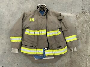 Morning Pride Fire Fighter Turnout Jacket 44 29 35 34 Bunker Gear 2767