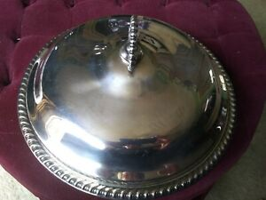 Vintage Rogers Silverplate Covered Serving Dish