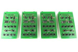 4 Piece Spa Circuit Board Lot With Led Display New
