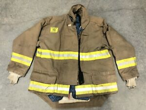 Morning Pride Fire Fighter Turnout Jacket 52 31 37 36 Bunker Gear 2768