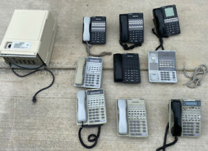 Panasonic Dbs 824 Phone System With 8 Working Phones