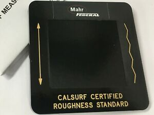 Mahr Federal Pmd 90101 Roughness Specimen Not Certified