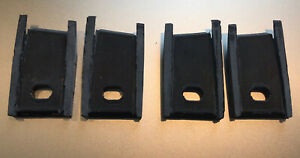 71 74 Amc Javelin And Javelin Amx Grille Tub Rear Mounting Tabs 4 Pieces