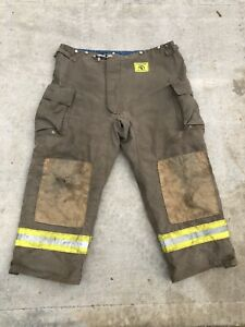 Morning Pride Fire Fighter Turnout Pants 48x30 Bunker Gear 2779