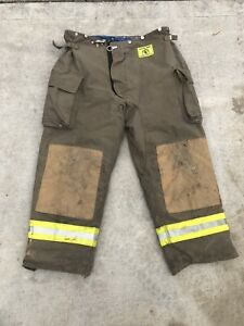 Morning Pride Fire Fighter Turnout Pants 44x31 Bunker Gear 2789