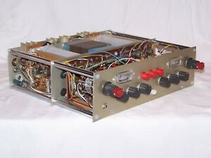 Tektronix Stereo Amplifier Hand Built Ultra Rare