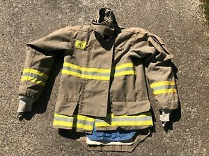 Morning Pride Fire Fighter Turnout Jacket 38 29 35 33 5 Bunker Gear 2759
