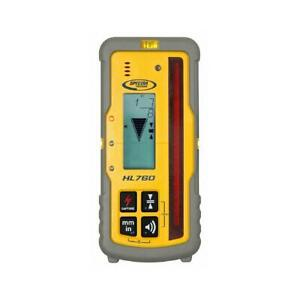 Spectra Precision Laser Level Receiver Digital Readout 6 Accuracy Levels Lcd