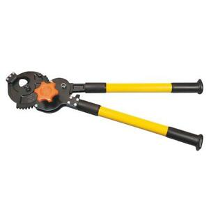 Klein Tools Ratcheting Cable Cutter Heavy Duty Sear Type Blade Vinyl Grip 28 In