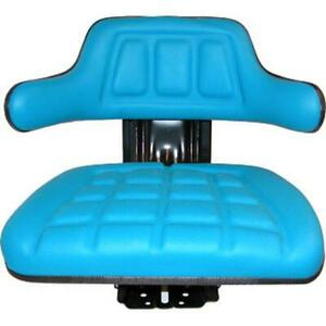 Blue Waffle Suspension Seat Fits Ford Fits New Holland Tractor 4000 4100 4110