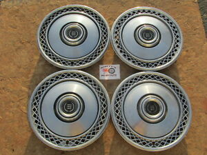1977 89 Ford Ltd Ltd Ii Mercury Cougar 15 Wheel Covers Hubcaps Set Of 4
