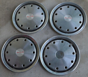 Chevy Gmc 1988 92 Full Sized Stainless Hubcaps 16 Inch 4x4 Badges Oem Parts