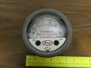 Dwyer Magnehelic Indicating Transmitter N43ehe 0 10 Inches Of Water 0 25psig Nos
