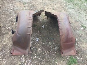 1959 Chevy Impala Biscayne Bel Air Inner Fender Wells Right And Left