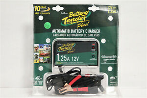 Battery Tender Plus 12v 1 25a Automatic Battery Charger 964