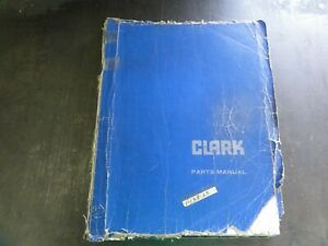 Clark C500 Forklift Parts Book Catalog Manual