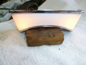 1967 1968 Mustang Cougar Console Rear Light Assembly New Bulbs Lens Tested 67 68