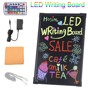 32 X 24 Led Message Writing Drawing Board Menu Sign Board Neon Cafe Restaurant