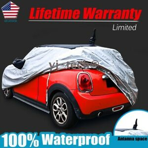 For Mini Cooper R55 R56 R60 F55 F56 Waterproof Car Cover W Original Antena Space
