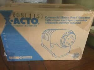 X acto High Volume Commercial Electric Pencil Sharpener Model 41 Beige