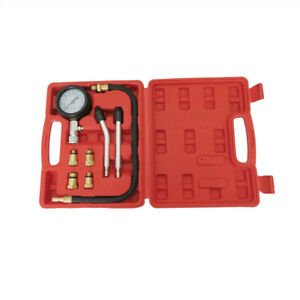 Fit For Petrol Gas Engine Cylinder Compression Tester Kit Gauge Tool Diagnostic
