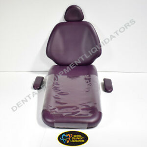 A dec 1221 Decade Dental Chair Upholstery Replacement Vinyl Cushion Kit New