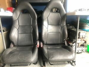 00 01 02 03 04 05 Toyota Celica Gts Gt Seat Front Leather Oem