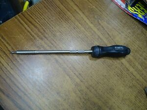 Snap On Tools Ssdmr8a Long Ratcheting Classic Hard Handle Screwdriver