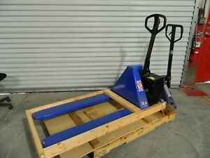 Worksmart 3300 Lb Electric Battery Powered Pallet Jack Lifter Ws mh lftb1 117