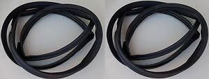 68 76 Dart Weatherstrip Window Seal Front Back 2dr Hdt Glass Windshield Rubber