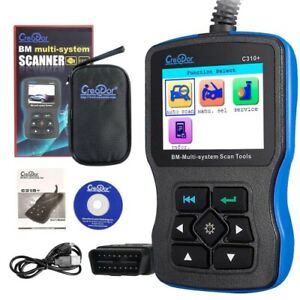 Creator C310 Code Scanner For Bmw Mini Multi System Scan Tool Update Online