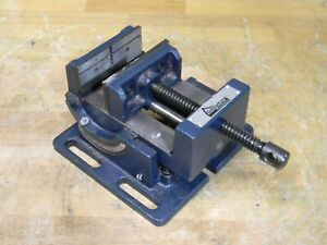 Gibraltar Cradle Style Angle Vise 4 Jaw Width 4 Opening Capacity
