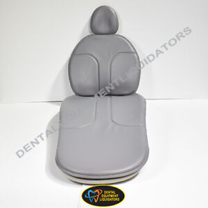 A dec 311 Dental Patient Chair Replacement Upholstery Cushion Set Oem Kit New