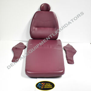 Belmont Bel 50 X calibur Dental Patient Chair Upholstery Replacement Set New