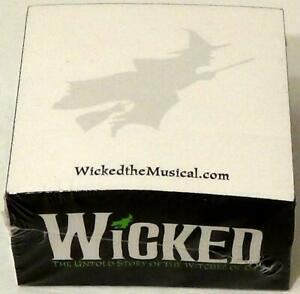 Wicked Post it Notes The Untold Story Of The Witches Of Oz New Rare Promo