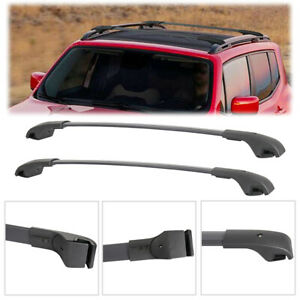 2pcs Luggage Roof Rack Cross Bar Crossbars For 2015 2019 Jeep Renegade