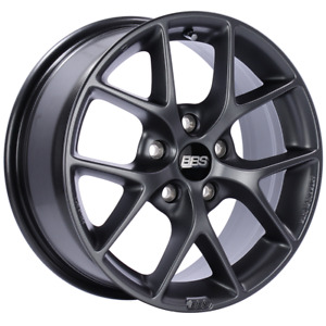 Bbs Sr 16x7 5x112 Et48 Offset Satin Grey Wheel 82mm Rim Full Set New Fast Ship