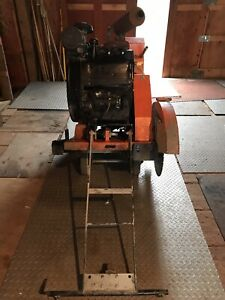 Norton Clipper Walk Behind Concrete Saw Self Propelled 26 Guard Blade Include
