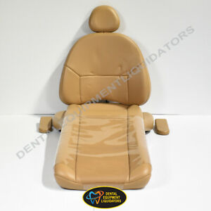 A dec 1040 Cascade Dental Chair Upholstery Replacement Cushion With Heat System