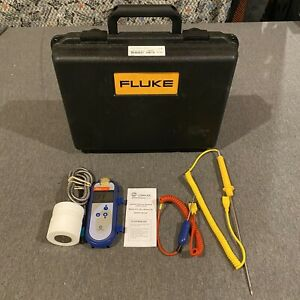 Comark C28 Handheld Thermometer W Probes Case