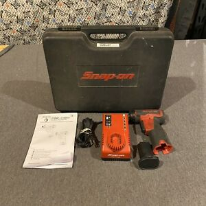 Snap On Cts661 1 4 Cordless Screwdriver With Battery Charger