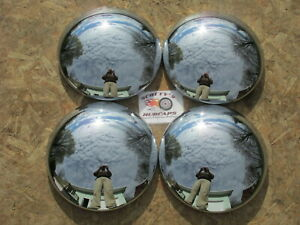10 1 4 Baby Moon Hubcaps Set Of 4 Great Shine Brand New In Box