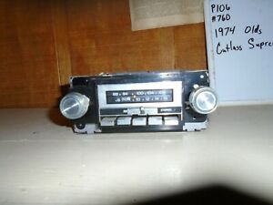 Used 1974 Oldsmobile Cutlass Supreme Delco Radio Stereo P106